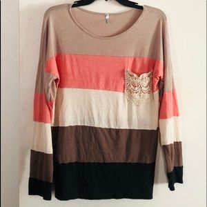 Auditions - Color Block Top